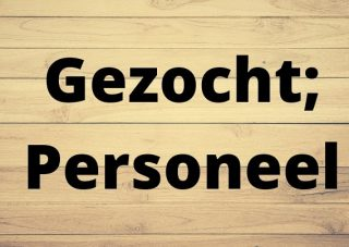 Gezocht; personeel